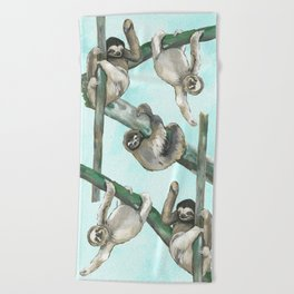 Hang. In. There. Beach Towel