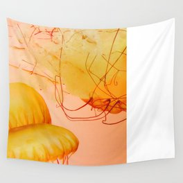 Northeast Pacific Sea Nettle Wall Tapestry