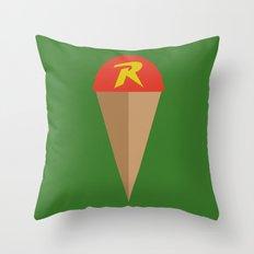 Robin's Road Throw Pillow