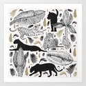 Wild Cats and Botanicals by matise