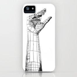 Planar Hand iPhone Case