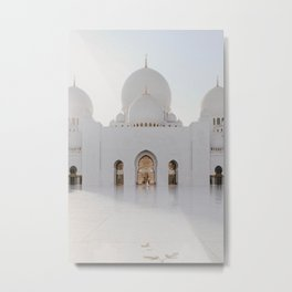 Sheikh Zayed Mosque Metal Print