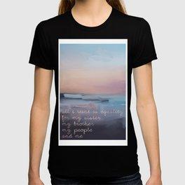 Nina Simone Quote Lyrics T-shirt