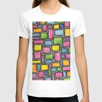 mod T-shirts featuring Geometric Mod by Andrea Gingerich