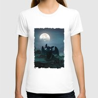 daenerys T-shirts featuring TOOTHLESS halloween by kattie flynn