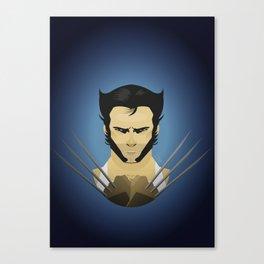 Hugh Jackman (wolvie) Canvas Print