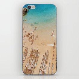 Turquoise Sea iPhone Skin