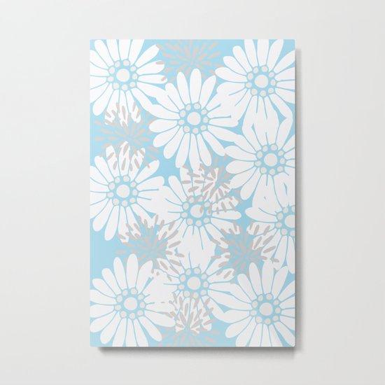 Summer Flowers Metal Print