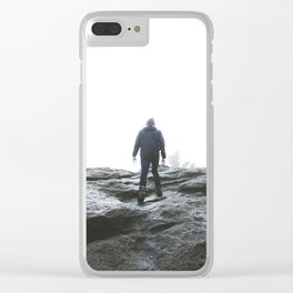 Top of the Rock Clear iPhone Case