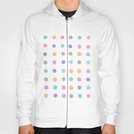 Watercolor dots Hoody