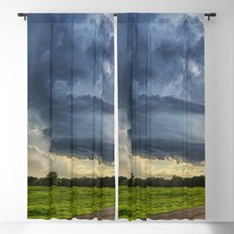 Magnificent Cloudfront Storm Brewing Ultra HD Blackout Curtain