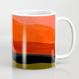 Mountains in Gradient Coffee Mug