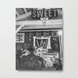 Vintage Horse Metal Print