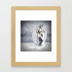 Winter Angel Framed Art Print
