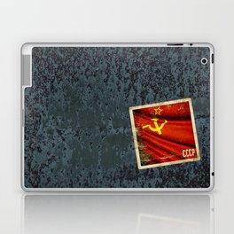 Sticker of Soviet Union (1922-1991) flag Laptop & iPad Skin
