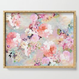 Love of a Flower Serving Tray