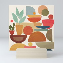 Modern Abstract Art 78 Mini Art Print