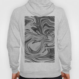 Marmalade Marble - Black and White Hoody