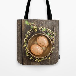 Golden eggs Tote Bag