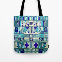Edinburgh architectural motifs Tote Bag