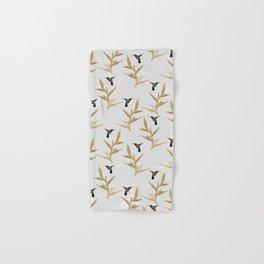 Hummingbird & Flower II Hand & Bath Towel