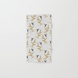 Hummingbird & Flower II Hand & Bath Towel