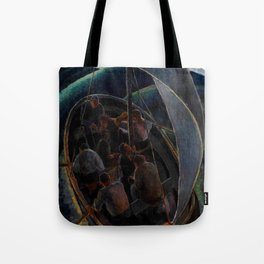 Classical African American Landscape 'Roll, Jordan, Roll' by Malvin Johnson Tote Bag
