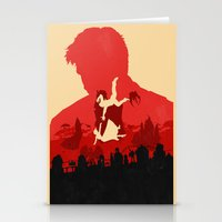 bioshock infinite Stationery Cards featuring Bioshock Infinite by Bill Pyle