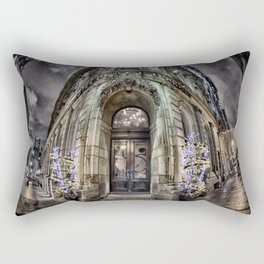 The Antique Building - Old Montreal Architecture 1 Rectangular Pillow