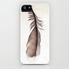 Feather Photograph: Ephemeral iPhone (5, 5s) Slim Case