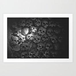 Catacomb - Original Photograph Art Print