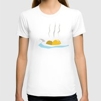 egg T-shirts featuring Egg by Gabe