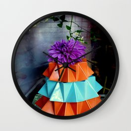 Skirting The Issue Wall Clock