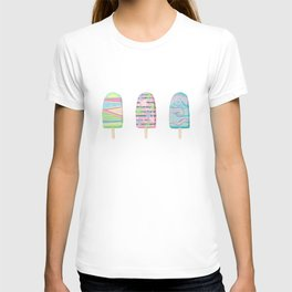Popsicle Triptych T-shirt