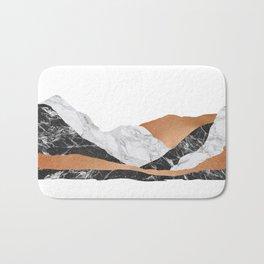 Marble Landscape I, Minimal Art Bath Mat