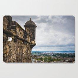 View of Edinburgh, Scotland from Edinburgh Castle Cutting Board