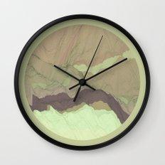 TOPOGRAPHY 003 Wall Clock