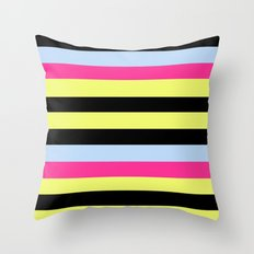 Bertie Bassett Stripes Pattern Throw Pillow