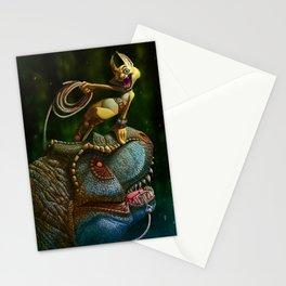 A la peche aux dinos Stationery Cards