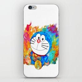 Doraemon iPhone Skin