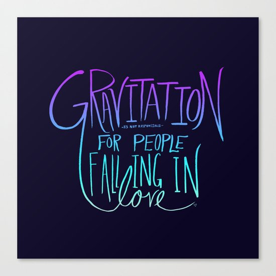 Gravitation Redux Canvas Print