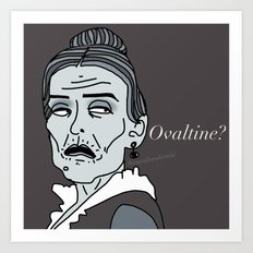 Female Trouble Series: Frau Blücher from Young Frankenstein Art Print