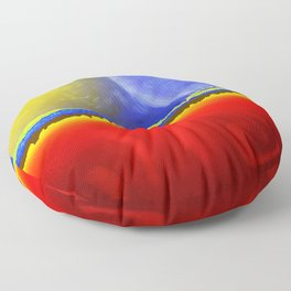 Our Earth Floor Pillow