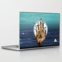 stargate Laptop & iPad Skins featuring Stargate by Sandra Dieckmann