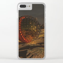 Communication Clear iPhone Case