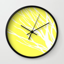 Lemon Blues Wall Clock