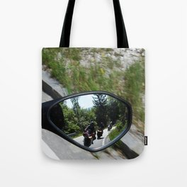 excursion by motorcycle 2 Tote Bag