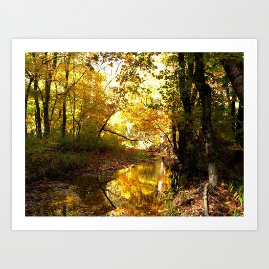 Fall afternoon II Art Print