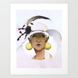 Seraphine by Ellie Hoffman Art Print