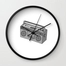 RADIO CASSETTE Wall Clock